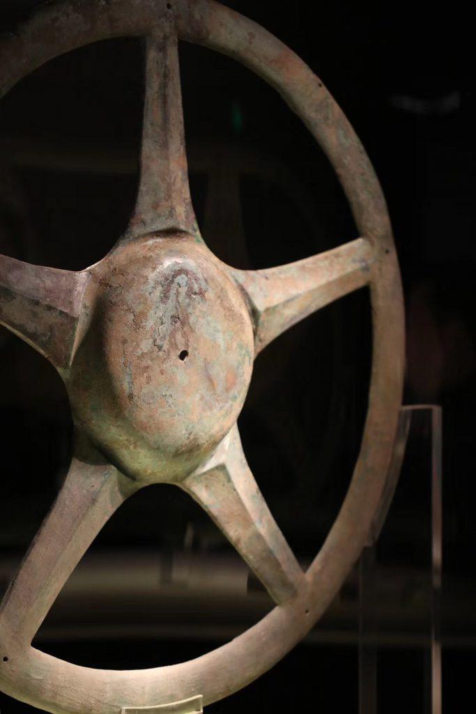 金環エッチング-広漢三星堆博物館