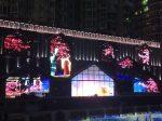 4月25日開始-夜の錦江観光-東門大橋-ライトアップ-light up-四川成都