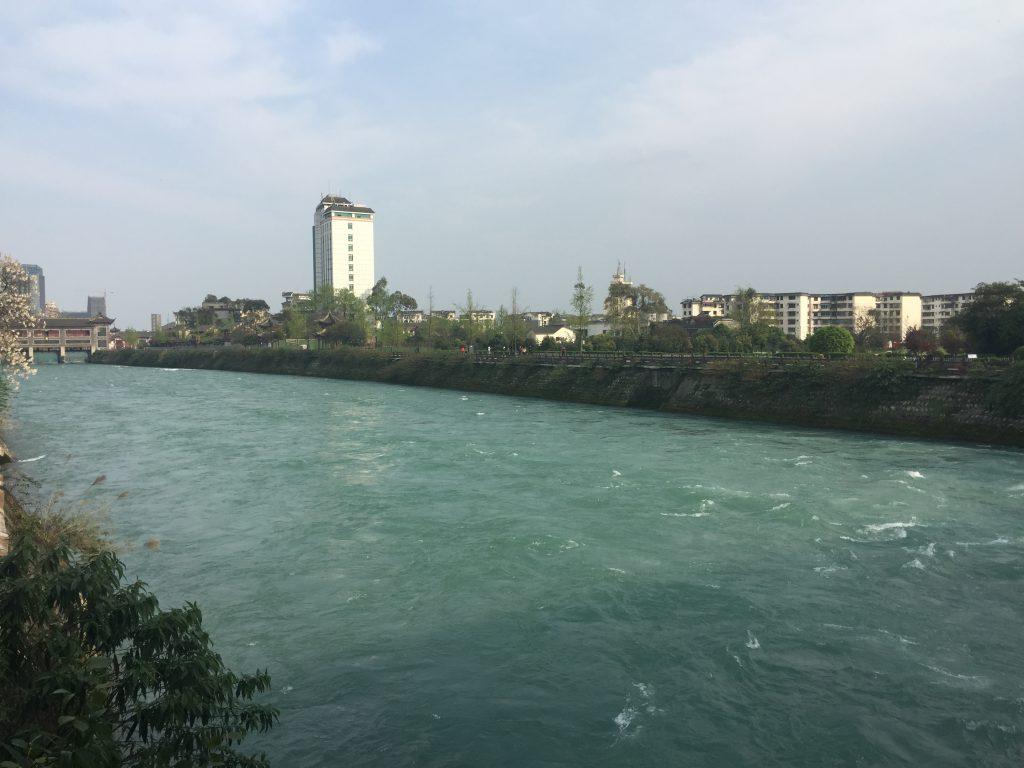 南橋-都江堰-世界文化遺産-四川成都