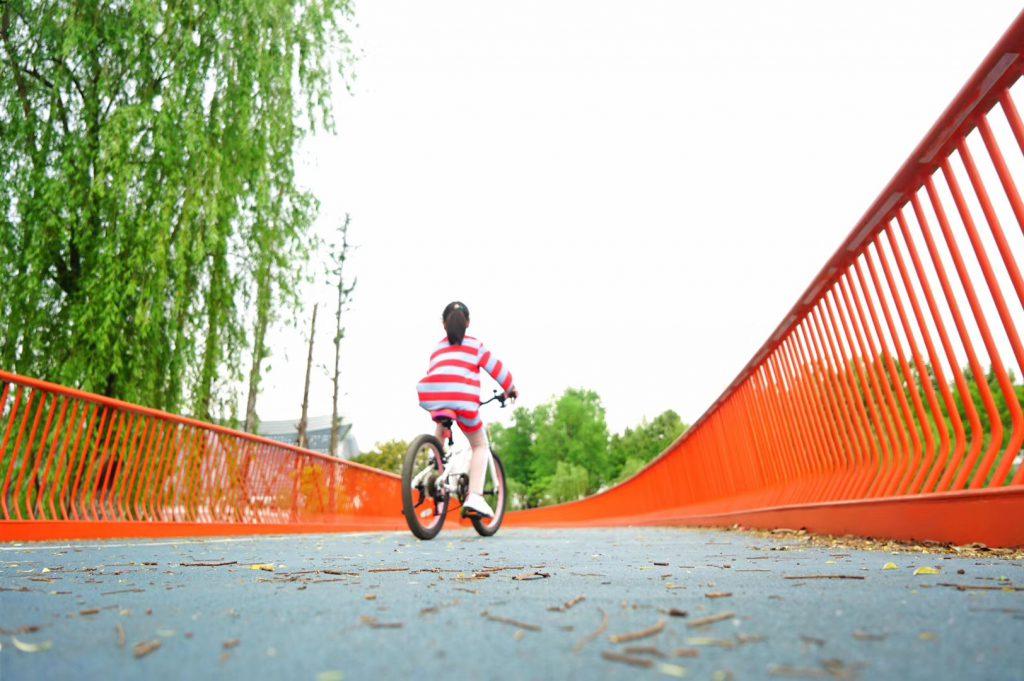 成都錦城湖公園-四川成都の【新世紀環球中心】近く