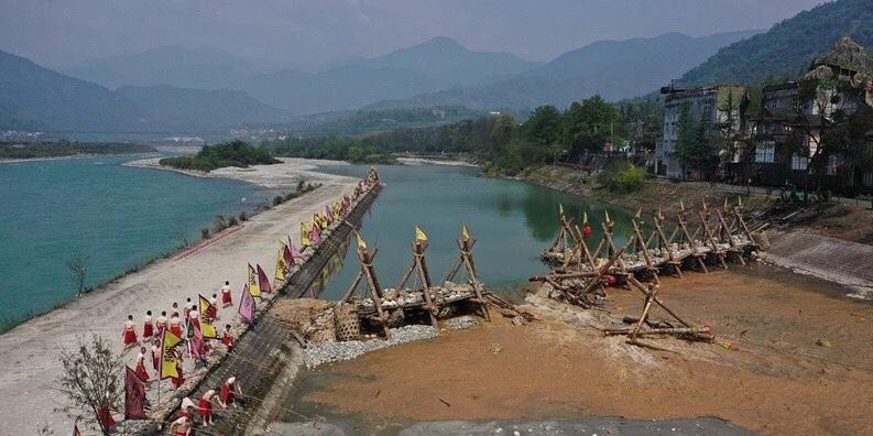 都江堰放水祭り-2019年中国-四川成都