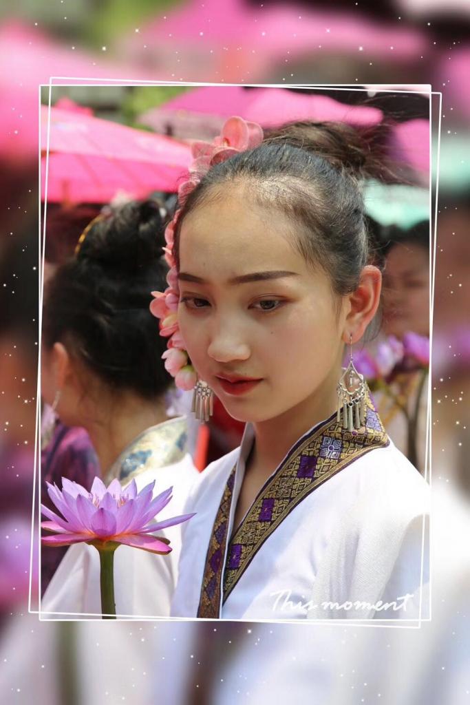 潑水節-雲南勐景來(中緬第一寨)-撮影: 唐学鋒