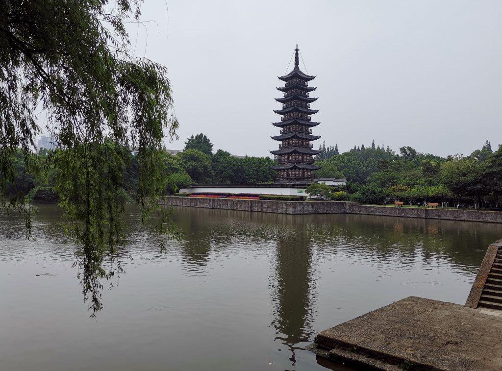 松江方塔園-明朱舜水紀念堂-撮影:盧丁
