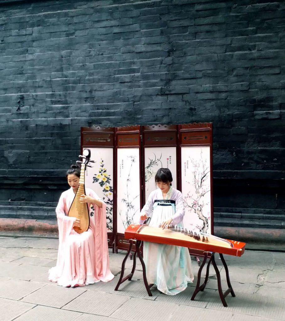 祠堂雅楽-成都武侯祠博物館-成都-四川