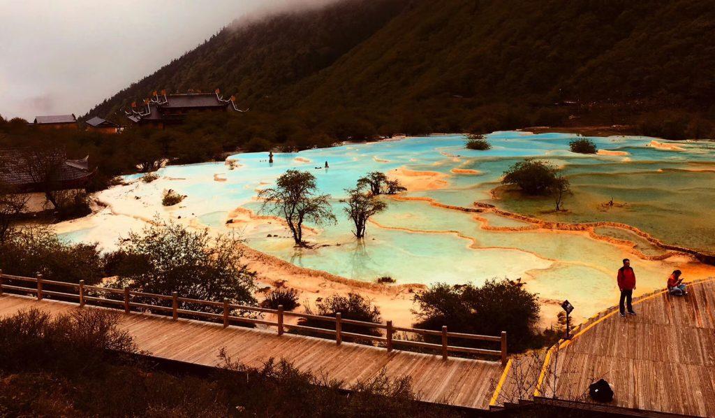 黄龍-五彩池-人間瑶池-四川-阿壩藏族羌族自治-撮影:程励
