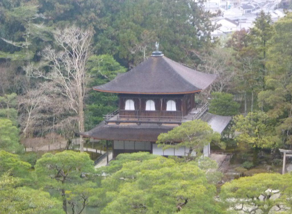 銀閣寺-慈照寺-京都-2015年1月23日旅行