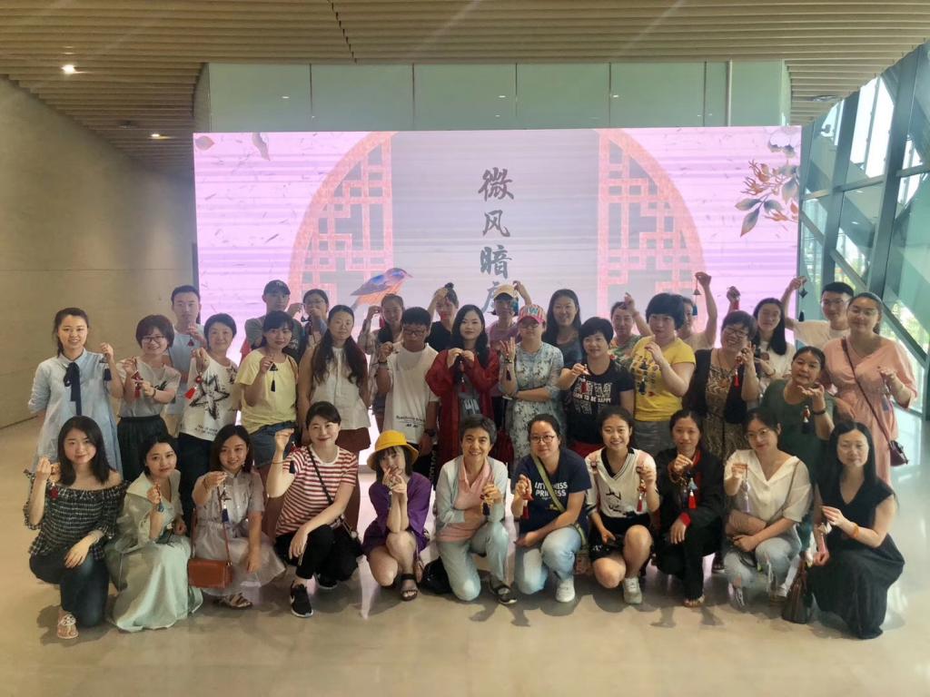 端午の節句に香嚢作り-2019年6月7日-成都博物館