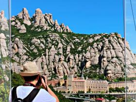 サンタ・マリア・モンセラート修道院-スペイン-撮影:唐学鋒2019-6-7