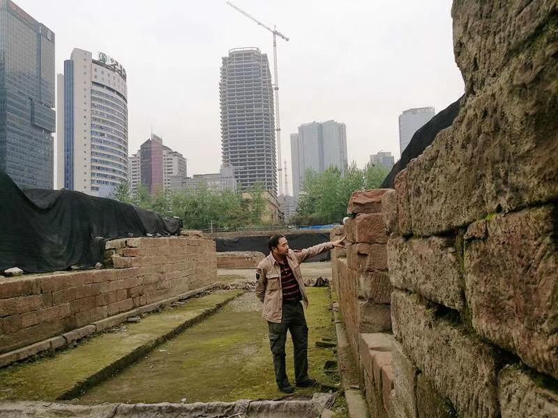 成都東華門遺跡-錦江区-成都市-写真提供:王黎明