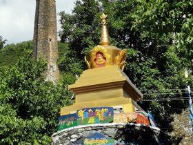 直波村-馬爾康-アバ・チベット族チャン族自治州-四川-撮影:盧丁