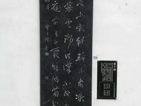 初月-杜甫千詩碑-浣花溪公園-成都杜甫草堂博物館-書:郭子緒