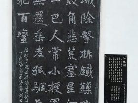 將曉二首 其一-杜甫千詩碑-浣花溪公園-成都杜甫草堂博物館-書:叶華洲