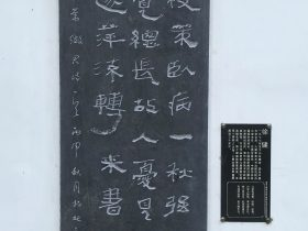 別常徵君-杜甫千詩碑-浣花溪公園-成都杜甫草堂博物館-書:徐健