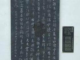 杜鵑-杜甫千詩碑-浣花溪公園-成都杜甫草堂博物館-書:曹端陽