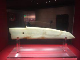 玉戈-玉器-展示ホール4-千載遺珍-金沙遺跡博物館-成都市