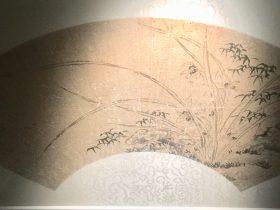 馬守真芝蘭竹石図扇面-物色-明代女子の生活芸術展-四川博物院-成都市