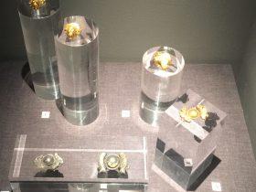 金鴛鴦戒指-金臥獅戒指-物色-明代女子の生活芸術展-四川博物院-成都市