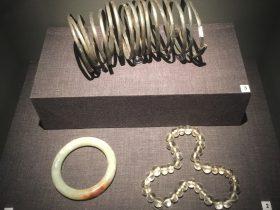 玉手鐲-水晶珠-銀臂釧-物色-明代女子の生活芸術展-四川博物院-成都市