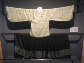緣綺-交領襖裙-物色-明代女子の生活芸術展-四川博物院-成都市