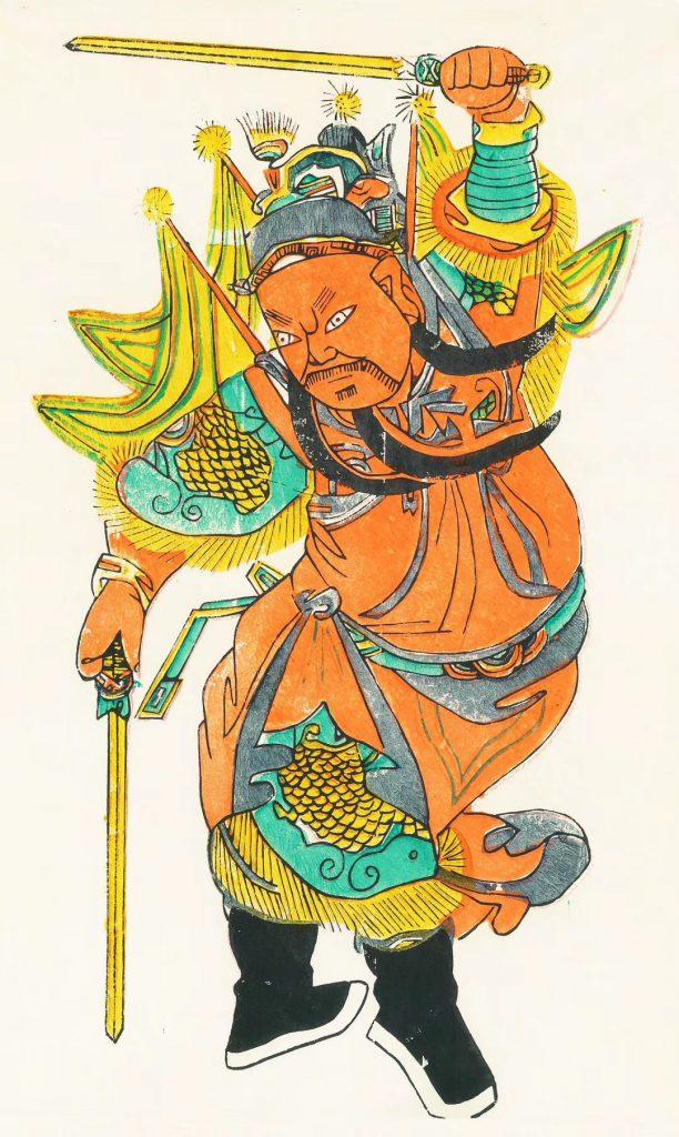 夾江年画-夾江県-楽山市-撮影:肖飛舸