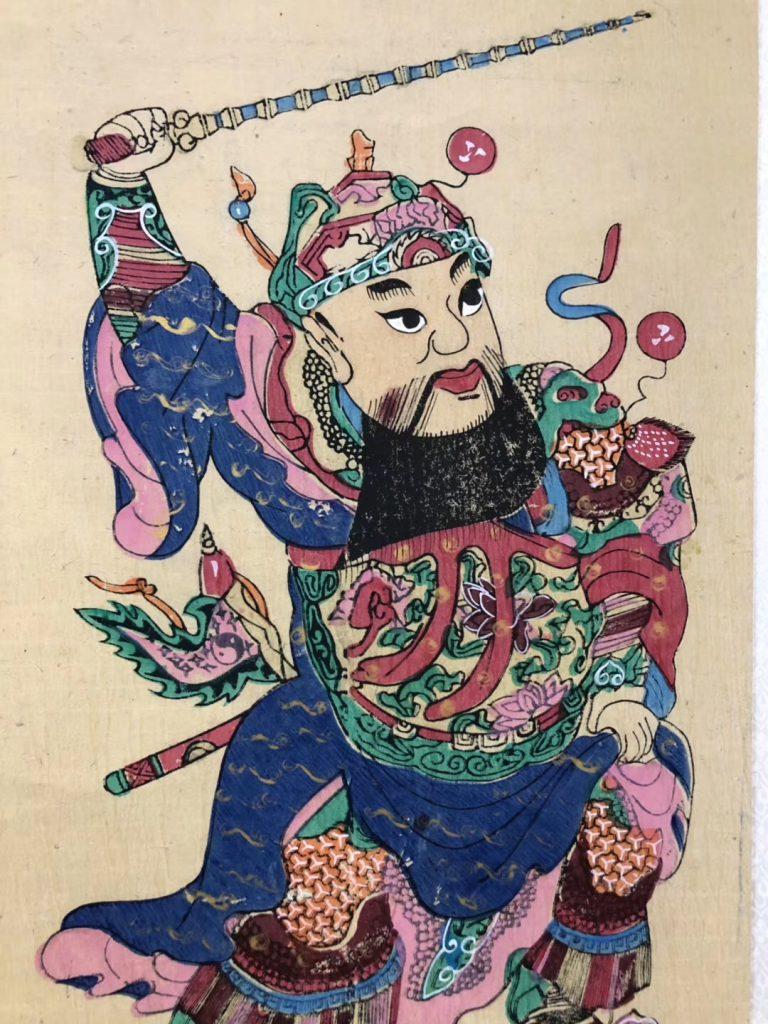 梁平の木板年画·人間国宝:徐家輝