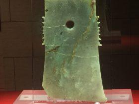 玉鉞-玉器-展示ホール4-千載遺珍-金沙遺跡博物館-成都市