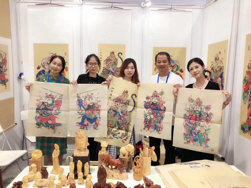 梁平の木板年画·人間国宝:徐家輝-撮影:肖飛舸