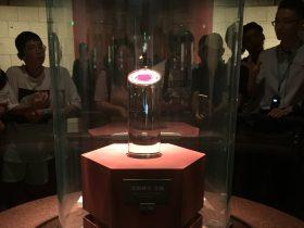 太陽神鳥金飾-金器-展示ホール4-千載遺珍-金沙遺跡博物館-成都市