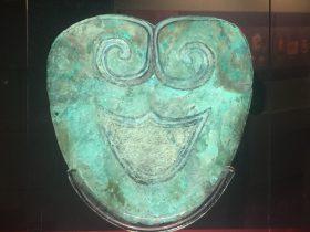 銅面具-銅器-展示ホール4-千載遺珍-金沙遺跡博物館-成都市