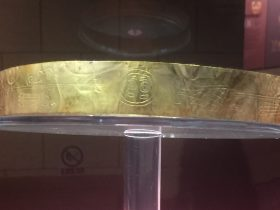 金冠帯-金器-展示ホール4-千載遺珍-金沙遺跡博物館-成都市
