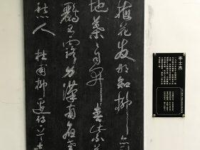 柳邊-杜甫千詩碑-浣花溪公園-成都杜甫草堂博物館-書:李士傑