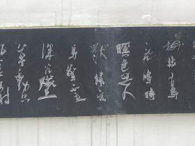 光祿阪行-杜甫千詩碑-浣花溪公園-成都杜甫草堂博物館-書:李鋭
