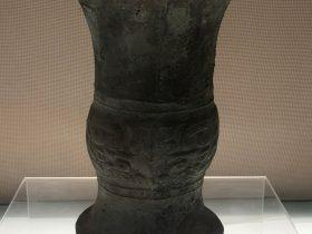 獣面紋-銅尊--竹瓦煙雲-巴蜀青銅器-青銅器館-四川博物院