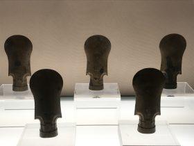 平肩圓刃銅鉞【2】-馬家王気-巴蜀青銅器-青銅器館-四川博物院-成都市