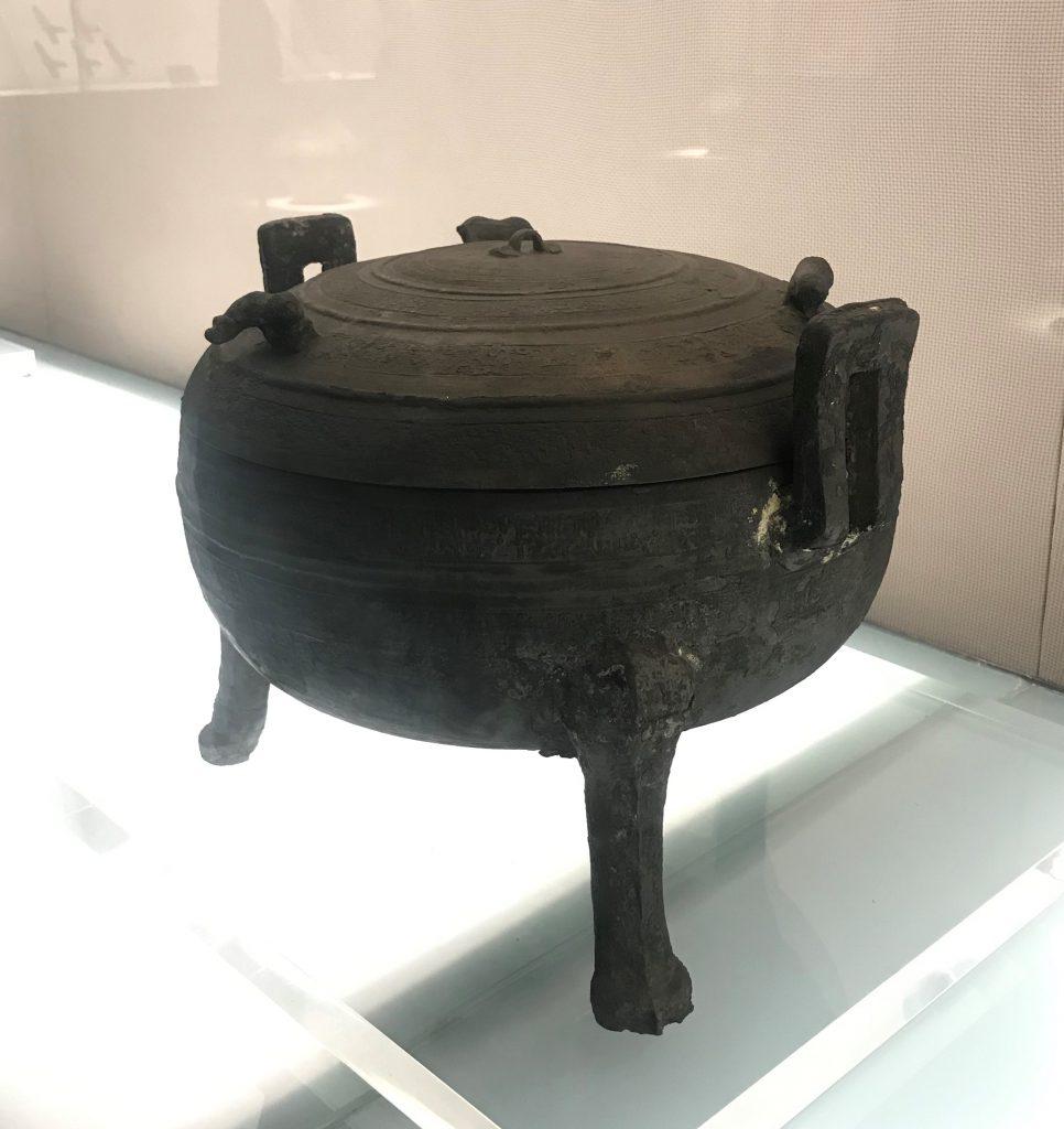 邵之食-銅鼎-馬家王気-巴蜀青銅器-青銅器館-四川博物院-成都市