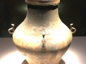 四耳銅壺-馬家王気-巴蜀青銅器-青銅器館-四川博物院-成都市