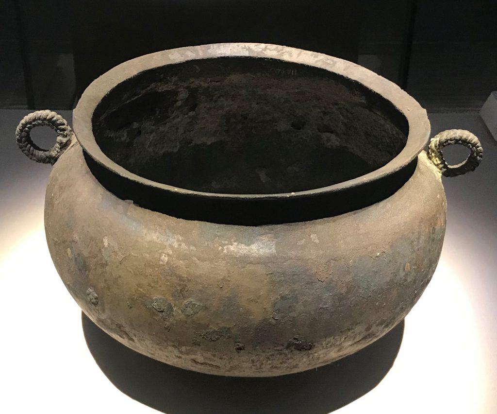銅釜-馬家王気-巴蜀青銅器-青銅器館-四川博物院-成都市