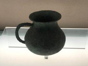 單耳銅鍪-飪食器-百花潭-巴蜀青銅器-青銅器館-四川博物院-成都市