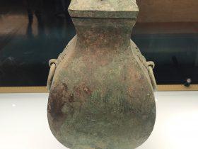 銅鈁-盛酒器-涪陵遺韻-巴蜀青銅器-青銅器館-四川博物院-成都市