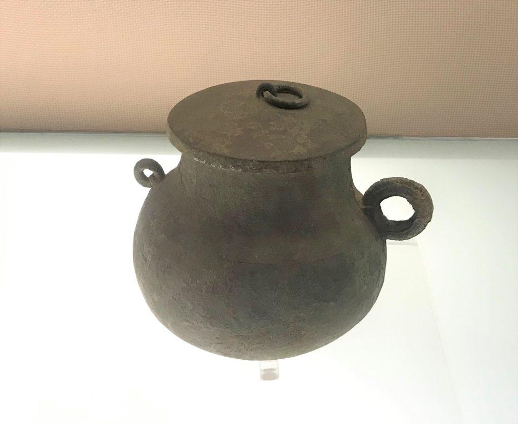 銅鍪-飪食器-羊子山-巴蜀青銅器-青銅器館-四川博物院-成都市