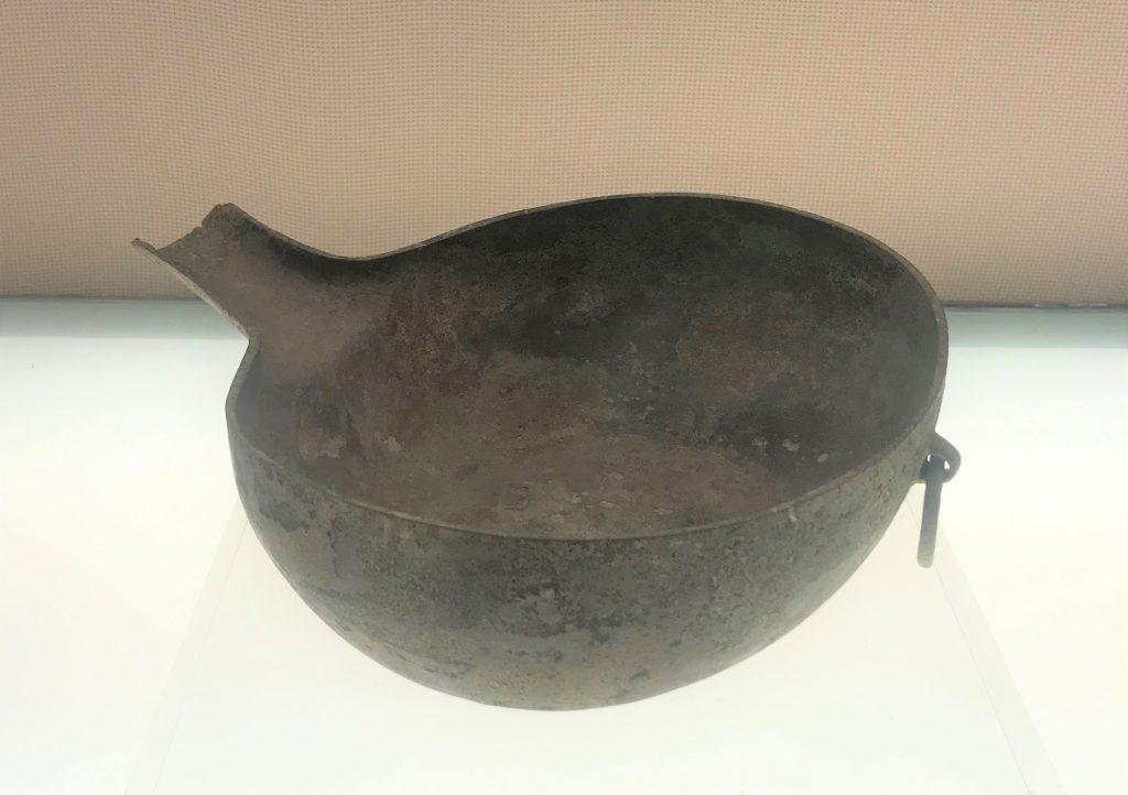 銅匜-盛水器-羊子山-巴蜀青銅器-青銅器館-四川博物院-成都市