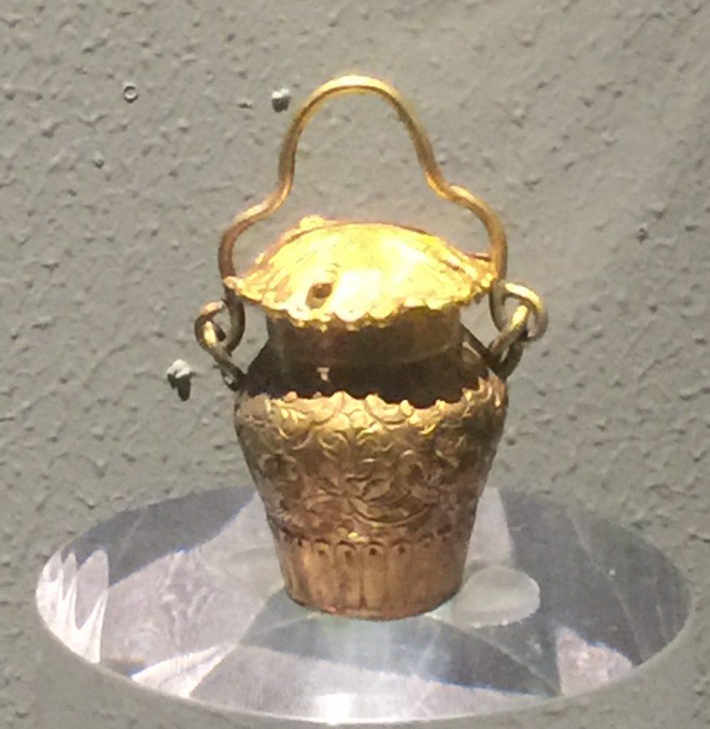 金花籃式小罐-物色-明代女子の生活芸術展-四川博物院-成都市