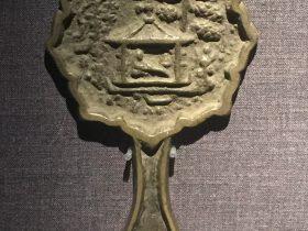 有柄菱花銅鏡-物色-明代女子の生活芸術展-四川博物院-成都市