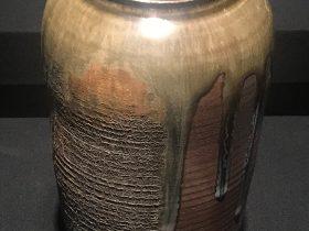 柴焼窯変花器-庹純陽【巧手奪天工-伝統工芸の現代再生】展-成都博物館