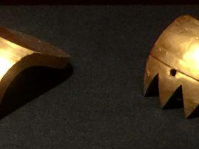金軛角飾-征戦【発見・中山国】特別展-金沙遺跡博物館-成都市