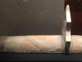 享堂陶筒瓦-瓦釘飾-建都【発見・中山国】特別展-金沙遺跡博物館-成都市