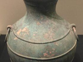 有蓋銅圓壺-建都【発見・中山国】特別展-金沙遺跡博物館-成都市