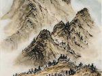 画-唐 · 王維-書・画:王英文-蘭里居士