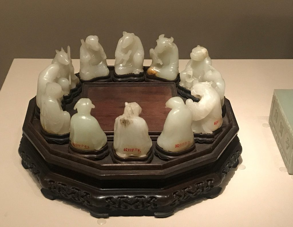 清・青玉十二生肖-重華宮-【重華宮へ入り】巡回展-成都博物館