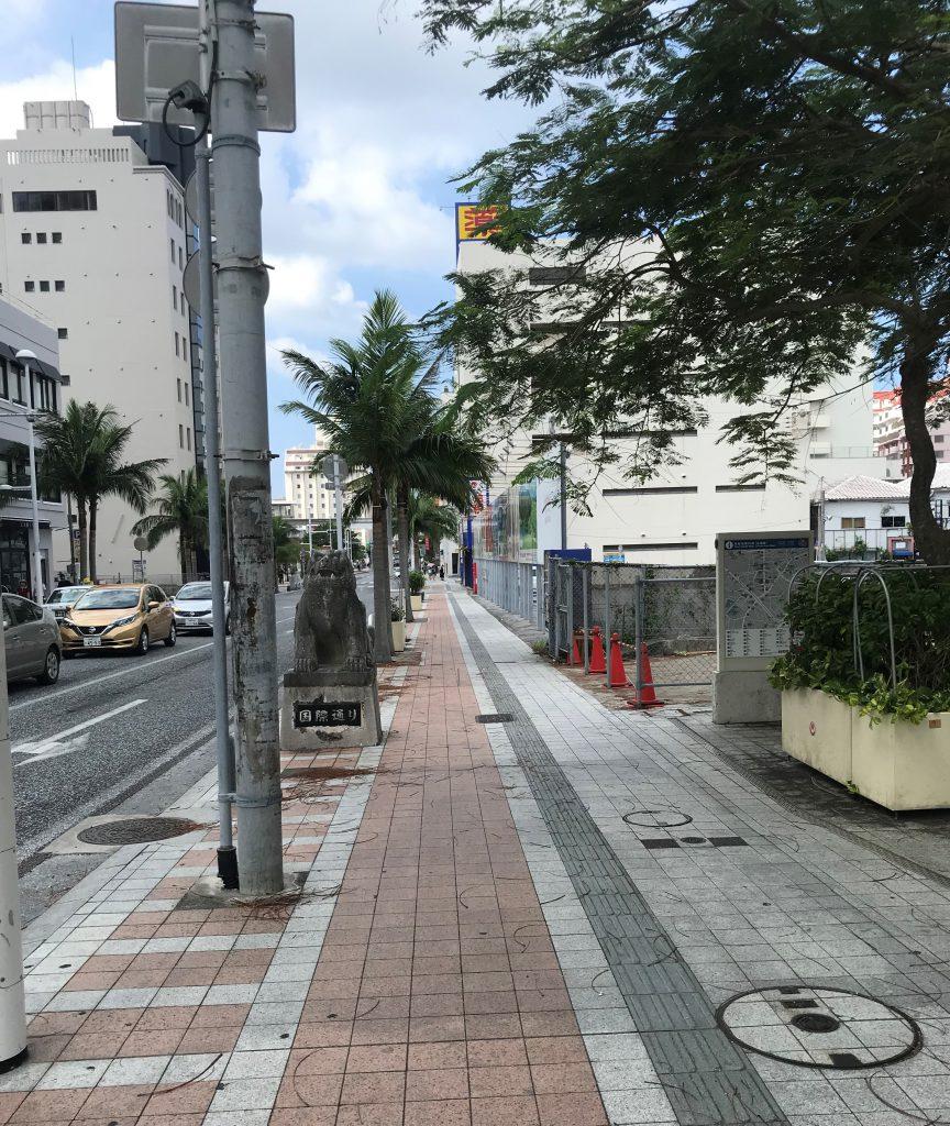 国際通り-壺屋やちむん通り-平和通り-那覇市-沖縄県